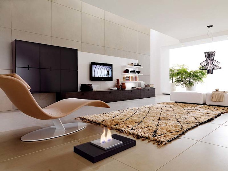 Living room by Shio Concept, Modern Iron/Steel