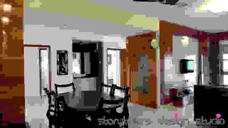Farm House Modern dining room by Storytellers Design Studio Modern