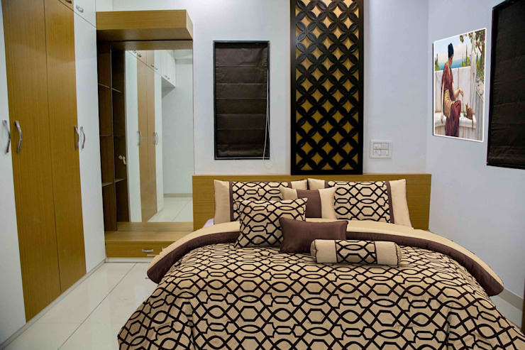 Bedroom Modern style bedroom by ZEAL Arch Designs Modern