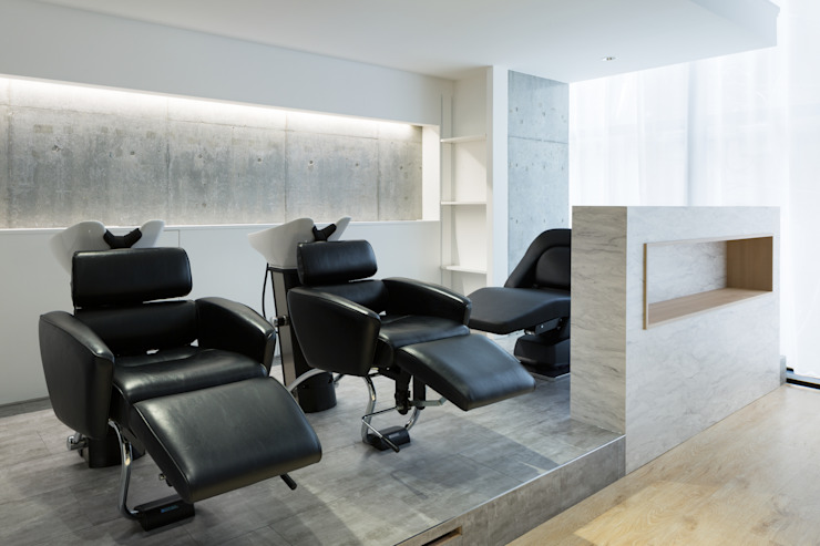 美容室 MAISON de IGGY モダンな商業空間 の Tamaki Design Studio モダン