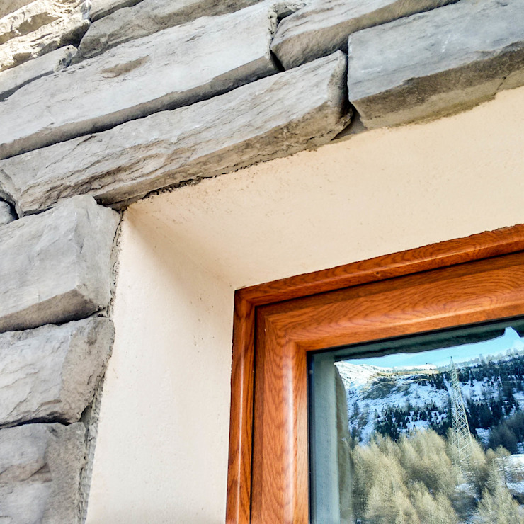 Country style windows & doors by AHORA ARCHITETTURA Country Stone