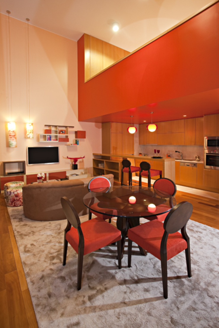 Loft | Quinta de Cravel | 2011 Salas de jantar modernas por Susana Camelo Moderno