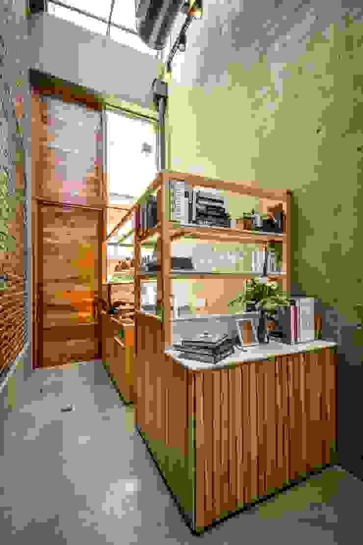INTERIORES EL PAPAGAYO RESTAURANT Gastronomía de estilo minimalista de CAPÓ estudio Minimalista