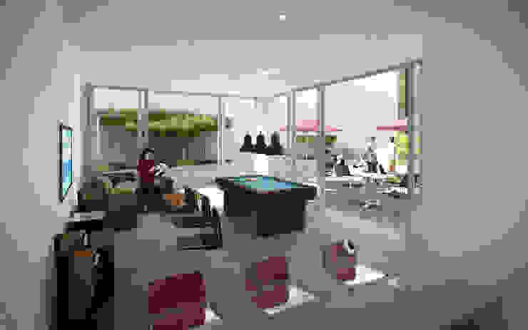 MIES GROUP Modern living room