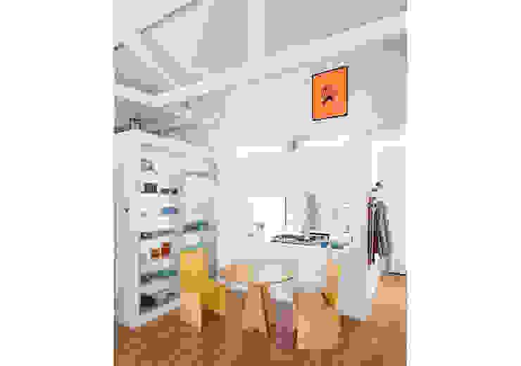 RSRG Arquitetos Comedores de estilo minimalista Multicolor