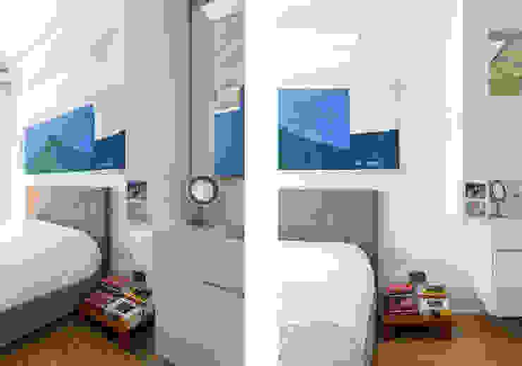 RSRG Arquitetos Cuartos de estilo minimalista