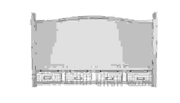 LUSTRO ALURO LAMALI z KOSZAMI od Altavola Design Sp. z o.o. Rustykalny Drewno O efekcie drewna