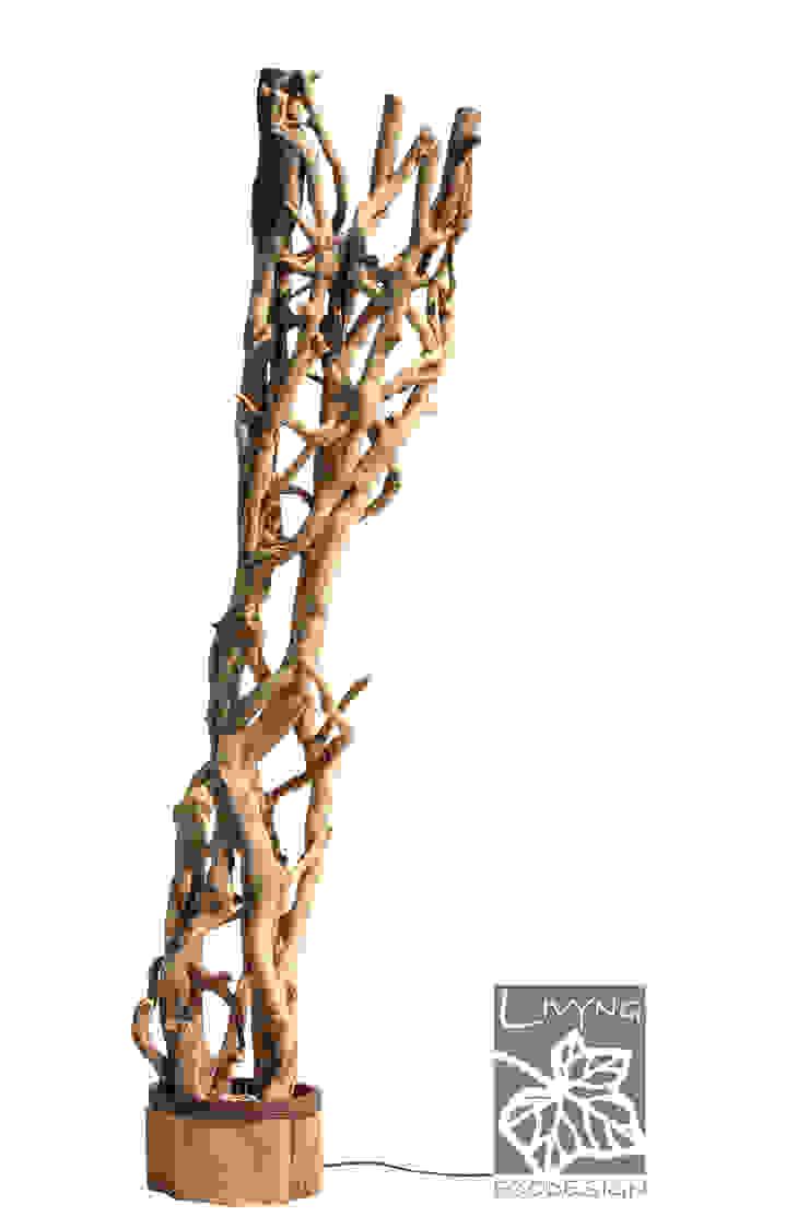 Livyng Ecodesign ВітальняОсвітлення Дерево Бежевий