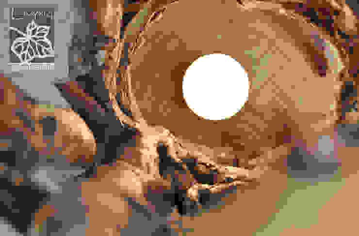 Livyng Ecodesign ВітальняОсвітлення Дерево Дерев'яні