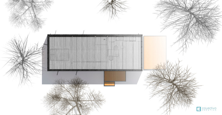 Modern houses by COLECTIVO CREATIVO Modern