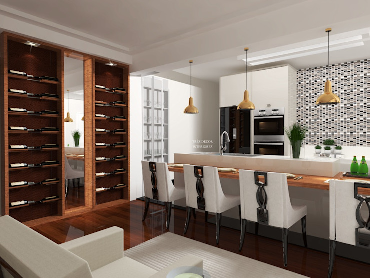 Cozinha Integrada Cozinhas modernas por Spazzio Design Moderno