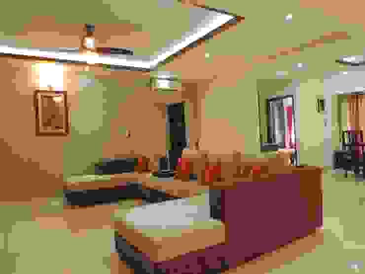 Flat Interior Modern living room by Joby Joseph Interior Modern
