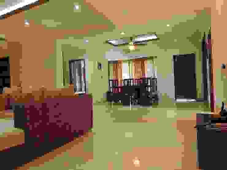 Flat Interior Modern dining room by Joby Joseph Interior Modern