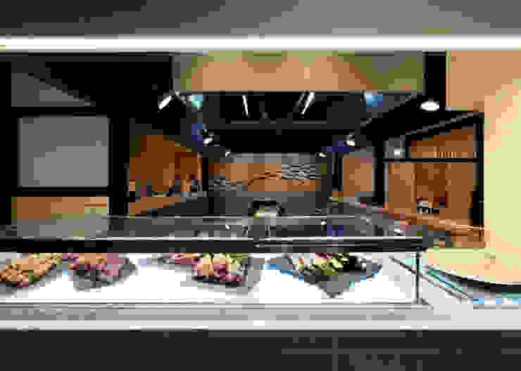 厨房カウンター廻り の 宮田建築設計室