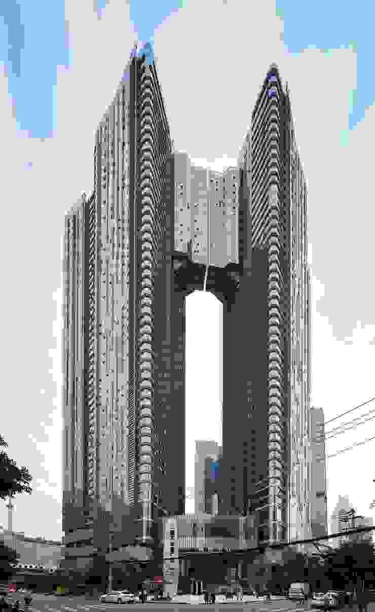 Evergrande Huazhi Plaza, Chengdu, China, by Aedas: modern  by Architecture by Aedas, Modern