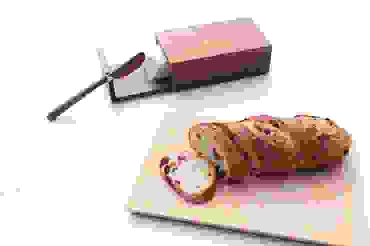 pan皿とバターケース: Semi-Acoが手掛けた折衷的なです。,オリジナル 木 木目調