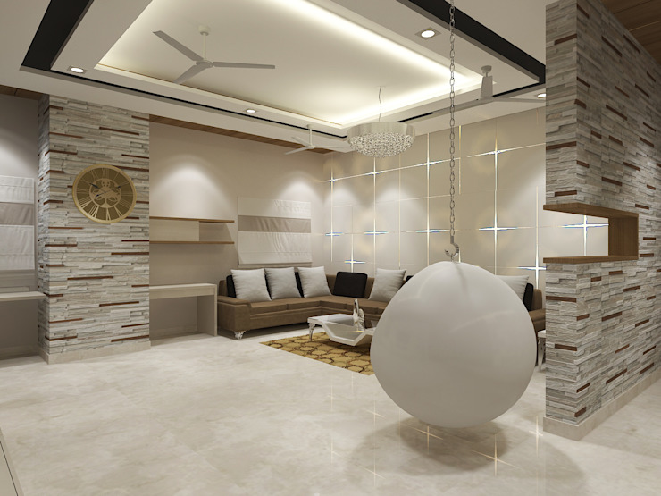View - 2 Of Living room by Vasantha Architects and Interior Designers (VAID)