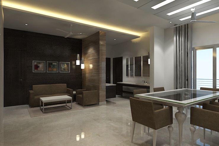 View - 3 Of Open Modular Kitchen by Vasantha Architects and Interior Designers (VAID)