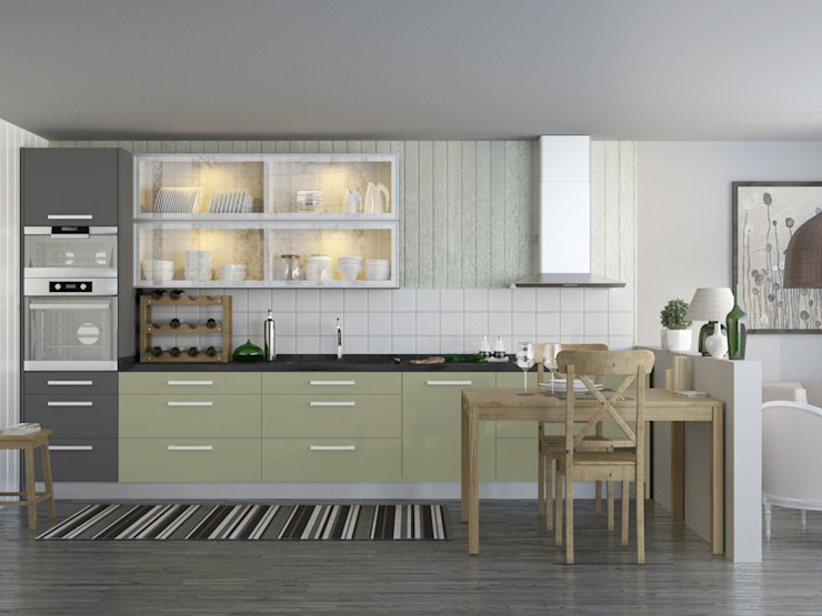 modern  door bono cocinas, Modern