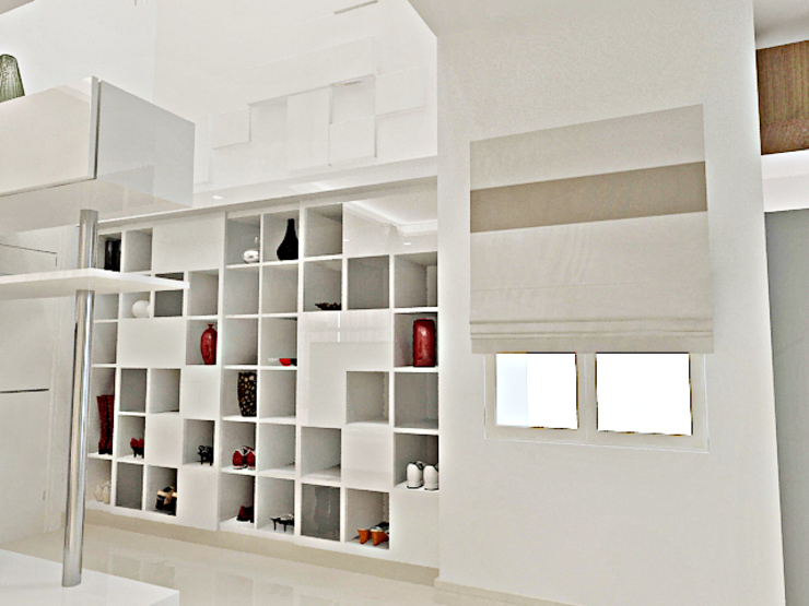 Drawing Room View 2 by Vasantha Architects and Interior Designers (VAID)