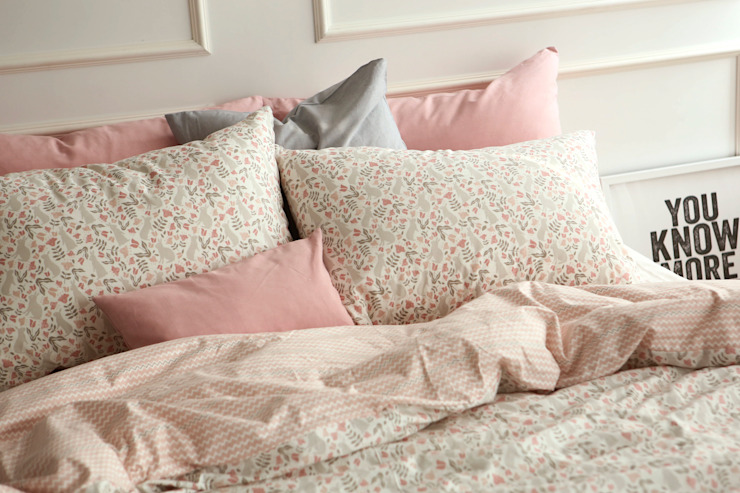 Bedding set (cotton) 01 Botanic garden: (주)이투컬렉션의 현대 ,모던