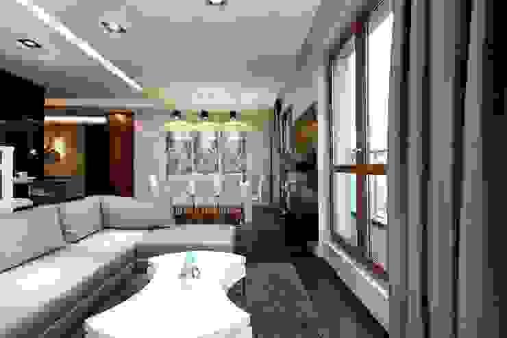 FLOW Franiak&Caturowa Modern living room