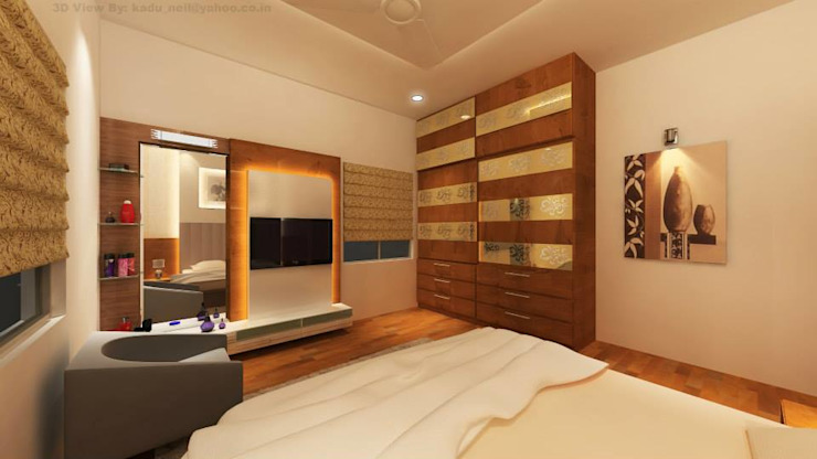 Interiors Modern style bedroom by MAVERICK Architects Modern