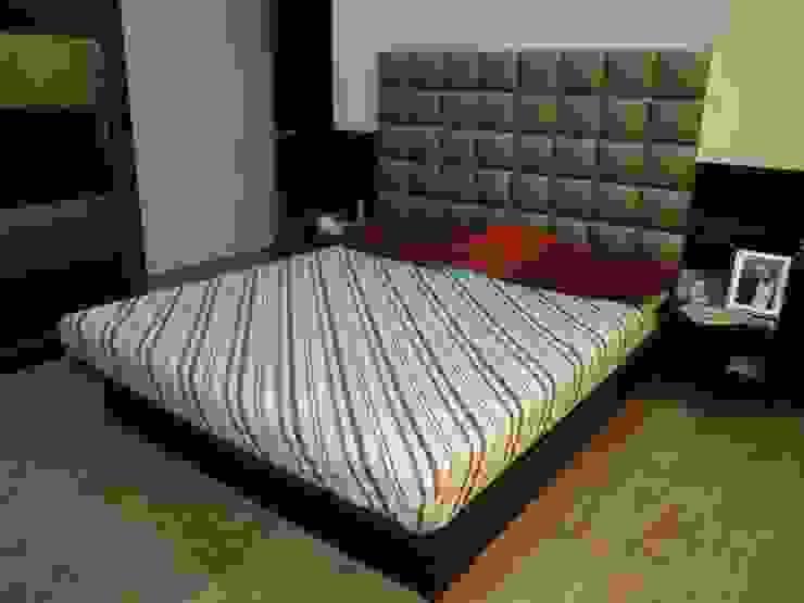 Punjabi's Residence. Modern style bedroom by MAVERICK Architects Modern