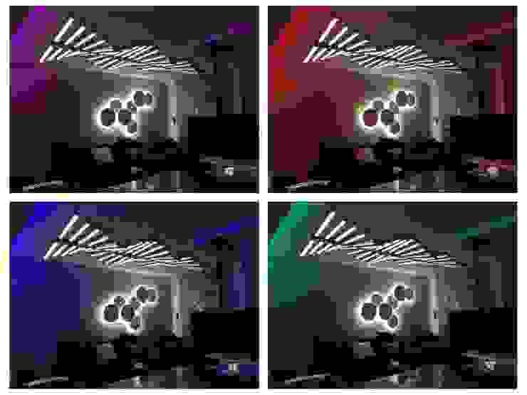 Iluminación salón LLIBERÓS SALVADOR Arquitectos SalonesIluminación