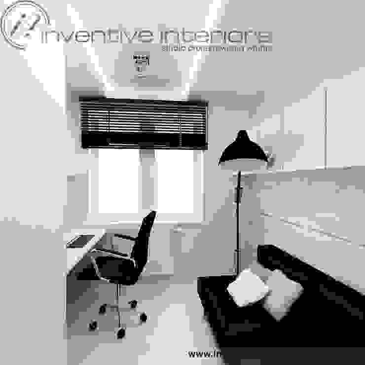 Minimalistyczny gabinet Minimalistyczne domowe biuro i gabinet od Inventive Interiors Minimalistyczny