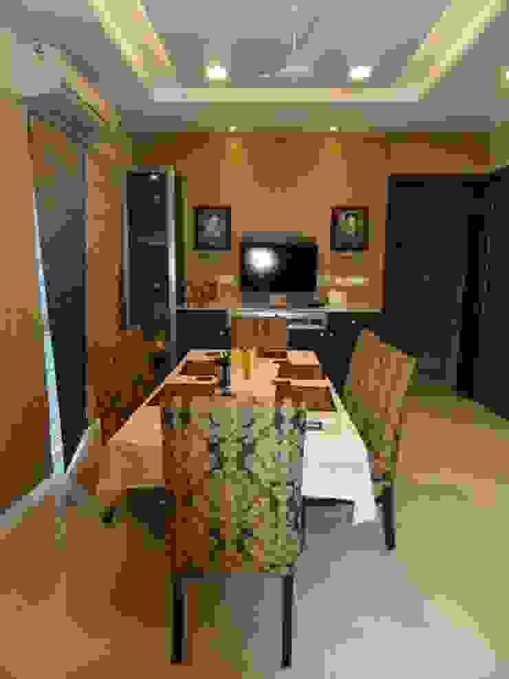 Amanora Modern dining room by MAVERICK Architects Modern