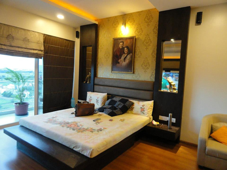 Amanora Modern style bedroom by MAVERICK Architects Modern