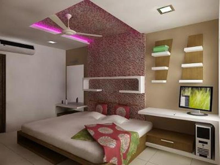 Interiors Modern style bedroom by 360 Degree Square Architects Modern