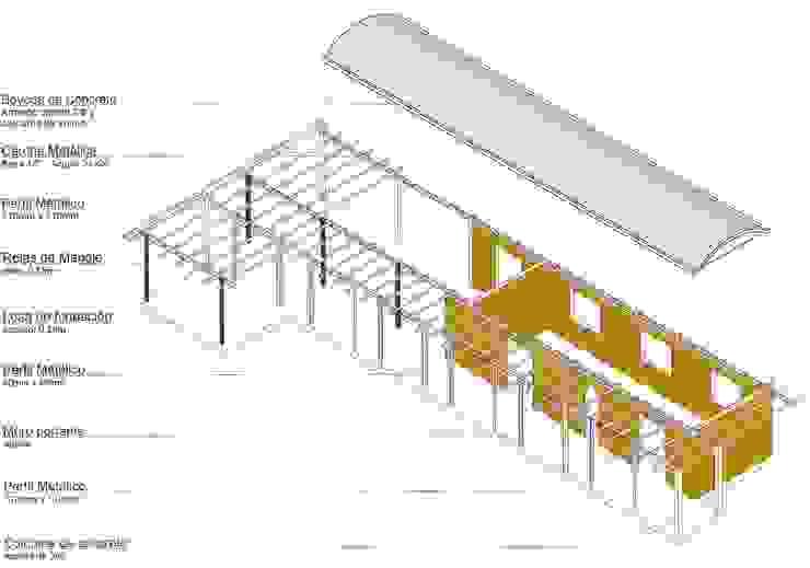 Isometria – Componentes estructurales de YUSO Clásico