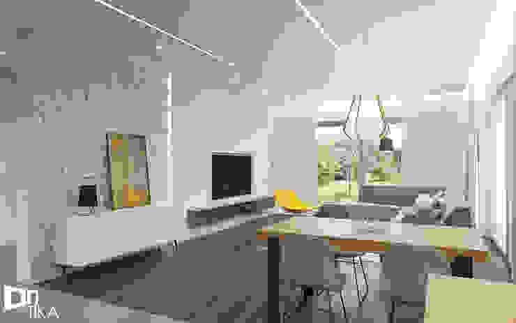 Salas modernas de TIKA DESIGN Moderno Concreto