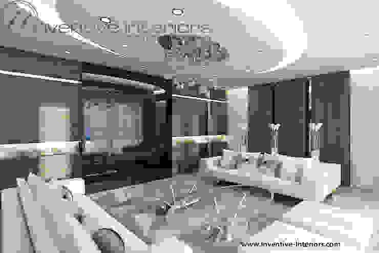 INVENTIVE INTERIORS - Dom z widokiem Klasyczny salon od Inventive Interiors Klasyczny Drewno O efekcie drewna