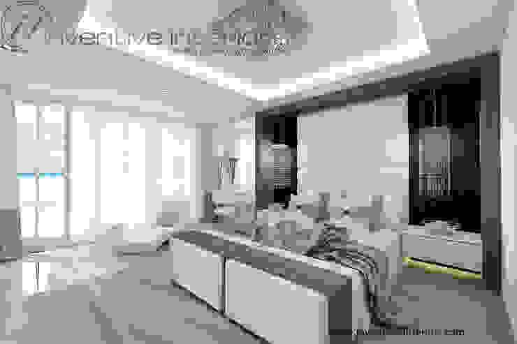 INVENTIVE INTERIORS – Dom z widokiem Klasyczna sypialnia od Inventive Interiors Klasyczny