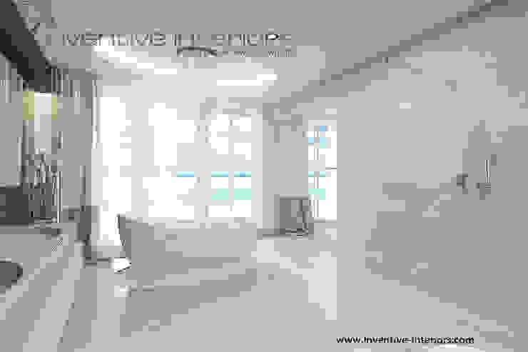 Salon kąpielowy Klasyczna łazienka od Inventive Interiors Klasyczny Marmur