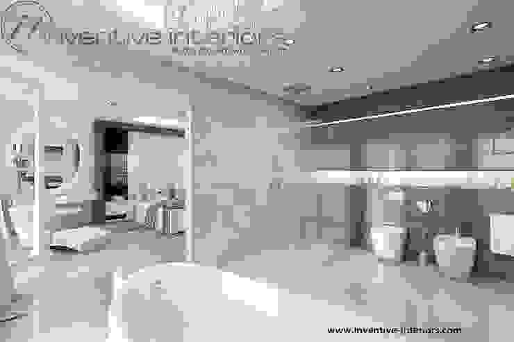 INVENTIVE INTERIORS – Dom z widokiem Nowoczesna łazienka od Inventive Interiors Nowoczesny Marmur