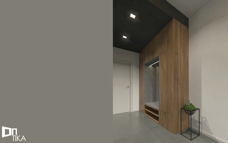 Modern dressing room by TIKA DESIGN Modern Wood Wood effect