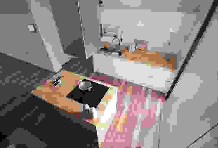 디자인스튜디오 레브 Cocinas de estilo moderno