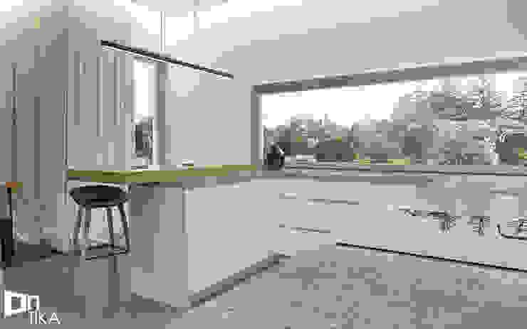 Cocinas de estilo moderno de TIKA DESIGN Moderno Concreto