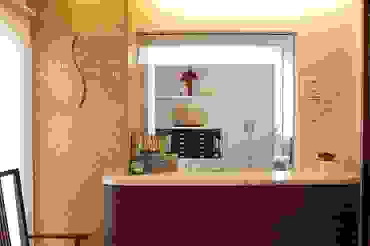 受付 Reception desk : ASut Designが手掛けたスカンジナビアです。,北欧