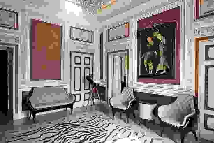 Pasillos, vestíbulos y escaleras de estilo clásico de Ethnic Chic - Home Couture Clásico