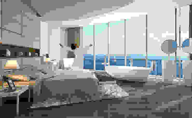 CCT 164 / Bakrikoy Modern Yatak Odası CCT INVESTMENTS Modern