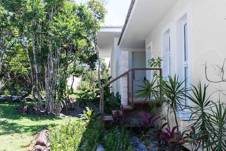 WR House Tropical style houses by Renata Matos Arquitetura & Business Tropical