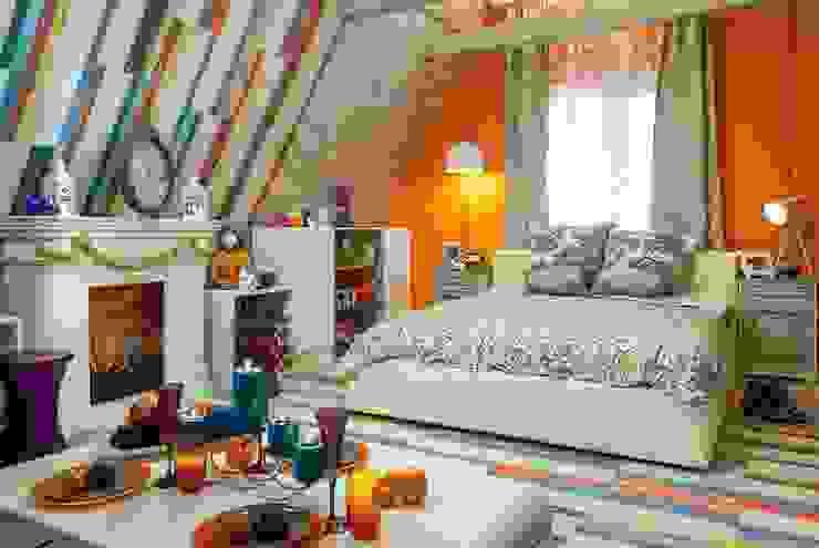 Пробковые полы CORKSTYLE в ТВ-проектах Спальня в стиле кантри от CORKSTYLE Кантри