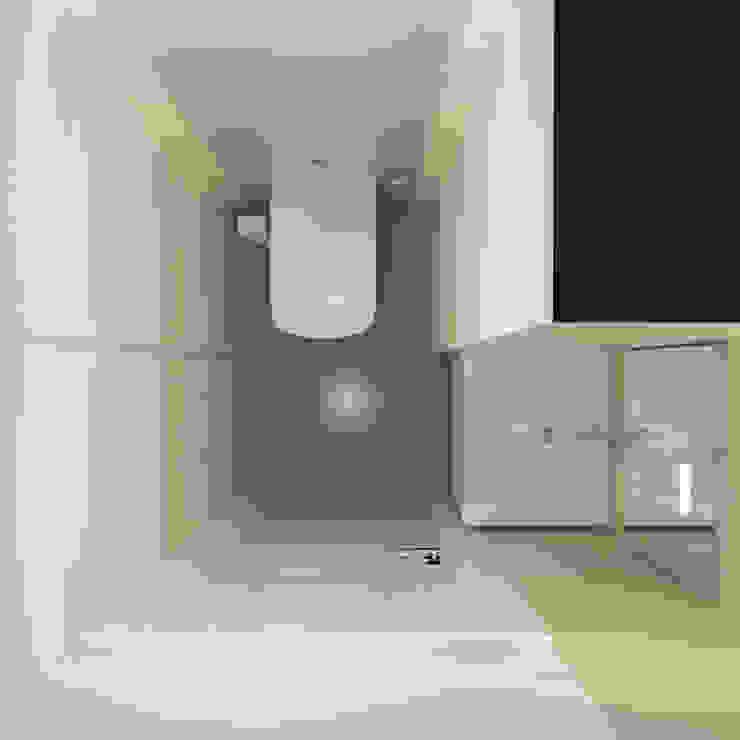 Визуализации проекта для семьи из г.Когалым Ванная комната в стиле минимализм от Alyona Musina Минимализм