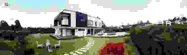 Andrés Hincapíe Arquitectos A H A 現代房屋設計點子、靈感 & 圖片