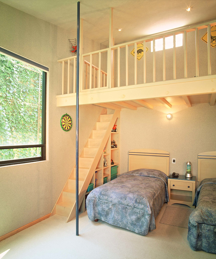 CASA LAURELES Dormitorios infantiles modernos de Diseño Integral En Madera S.A de C.V. Moderno